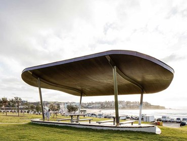 The Bondi Beach shelter