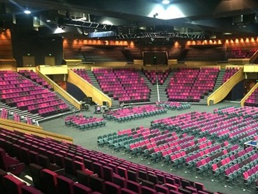 Brisbane Convention Centre Seating Upholstery In 3 Custom