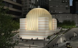 Calatrava's Greek Orthodox Church at World Trade Center site restarts construction