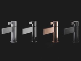Candana unveils new bathroom tapware collection, Calibre by Sussex