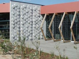 Natural basalt formations drive design of Caroline Springs library project