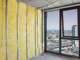 Non-combustible walls with Bradford insulation
