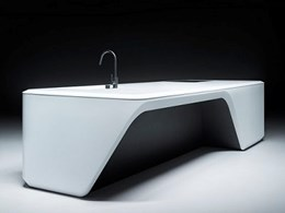 Elle Deco award winner Cove Kitchen by Zaha Hadid Design featuring Corian