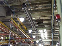 Celmec's Tube Radiant Heaters increase efficiency and reduce costs at Melbourne truck manufacturer