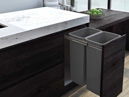 On-trend Cinder colour added to Hideaway Compact bin range