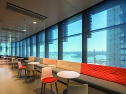 Screen Nature roller blinds provide thermal and visual comfort at Lendlease's Barangaroo project