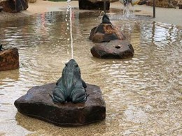 StoneSet installed at Coomera waterpark in latest Westfield Shopping Centre project