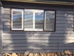 Plantation shutters installed at Sydney suburban cottage