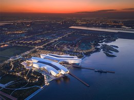 Cox Architecture's National Maritime Museum of China