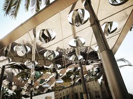 Italian architect designs new futuristic digital shading system with solar power capability