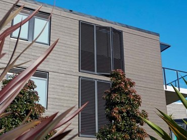 Allure Apartments featuring Cemintel Territory cladding