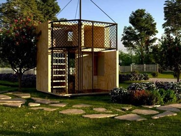 Hartman Homes' cubby house design titled Plyground