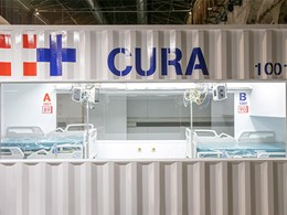 Shipping container hospitals for to treat COVID-19