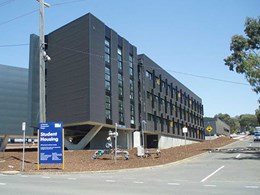 Blockout and sunscreen blinds installed at Deakin student accommodation
