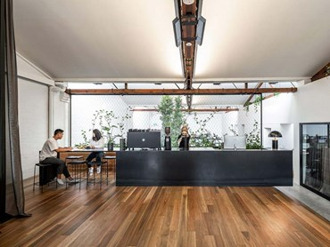 DKO Sydney office featuring Spotted Gum flooring