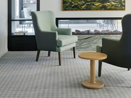 Bespoke carpet and timber look planks add style and comfort at senior care home