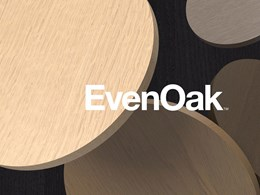 New oak timber veneers added to Eveneer range