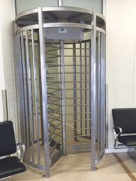 Magnetic's MPT full height turnstiles installed at regional airport to control passenger rush