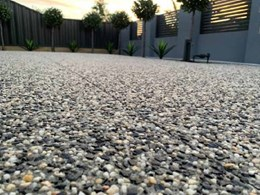 Backyard Week on The Block features Geostone decorative concrete