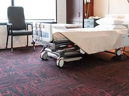 Infusing hotel comfort and style in healthcare facilities