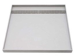 Stop leaking showers with Akril tile over trays