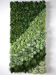 How artificial green walls simplify interior design