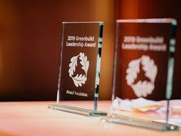 Knauf Insulation receives Greenbuild award for leadership in sustainable building