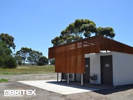Vandal resistant Britex fittings for Greenvale Reservoir Park toilet blocks