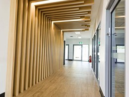 MAXI BEAM achieves cosy tunnel effect in childcare centre corridor