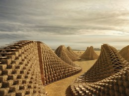 Stunning straw bale school design in Malawi