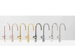 Zip HydroTap revolutionises kitchen design with new Platinum range in 8 trendy colours