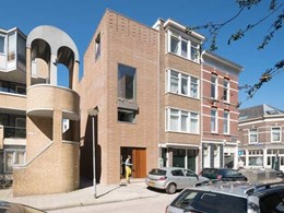 Rotterdam house built with rubble exemplifies construction waste recycling