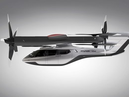 Hyundai and Uber release design for flying car