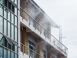 Fireproofing buildings with concrete masonry blocks