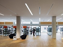 Acoustic ceilings with Vogl perforated plasterboards