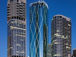 Shade Factor provides controls for massive blind installation at Brisbane tower
