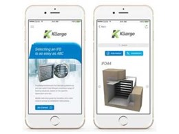 New Kilargo app simplifies IFD selection