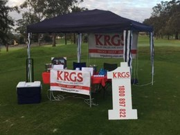 KRGS wins for Westmead Children's Hospital at ASOFIA Golf Day