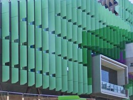 Lady Cilento Children's Hospital façade features Symonite HD