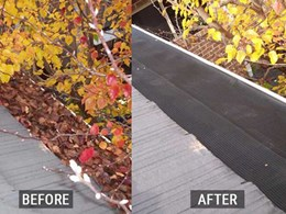 How mesh covered gutter guards deliver protection and ROI