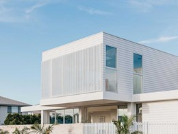 Linea weatherboard assures durability at forever home