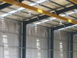 Fire performance requirements for wall and ceiling linings in warehouses and sheds
