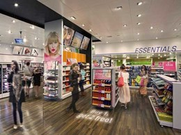 Luminous vinyl flooring gives retail branding a boost