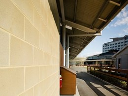 Double award-winning project features Baines masonry blocks