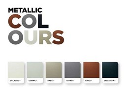 Steel-Line releases new Colorbond metallic colour garage doors