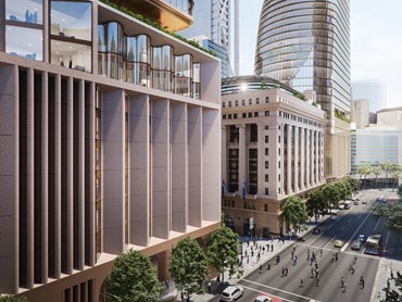 In what seems like a nod to the bad old days of property development in NSW, the Berejiklian government has knocked back the advice of two independent reports, including one from its own planning department for the design of two proposed Macquarie Group towers at Martin Place.  Image: www.metromartinplace.com