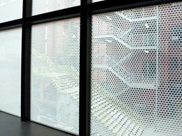 Insulglass Select IGU install allows light and temperature control at RMIT building