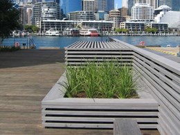 Composite material achieves real timber look at Sydney Harbour's Wharf 8 & 9 project