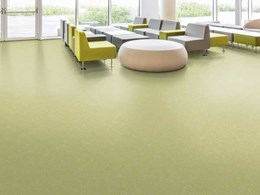 Nora's new rubber floor covering makes an impression at collection preview