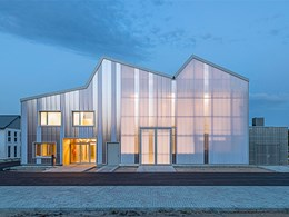 Germany's translucent polycarbonate cladding
